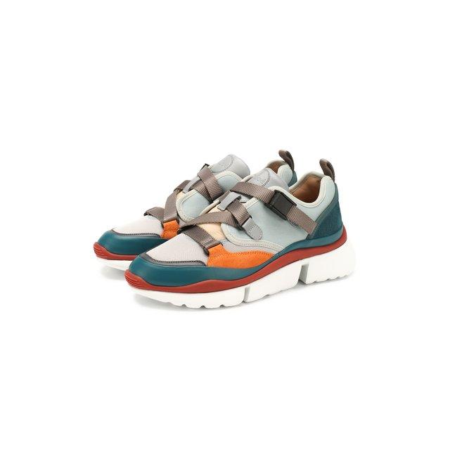 Комбинированные кроссовки Sonnie Chloé — Комбинированные кроссовки Sonnie