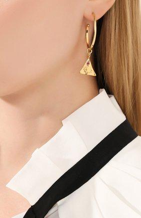 Женские серьги HERMINA ATHENS золотого цвета, арт. KPHEG | Фото 2
