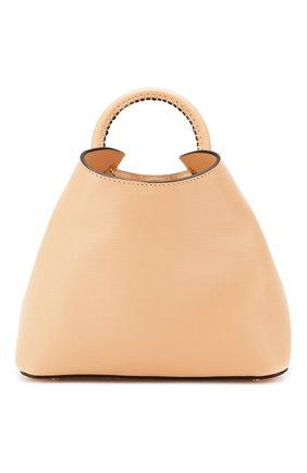 Женская сумка baozi ELLEME розового цвета, арт. BA0ZI/C0W LEATHER | Фото 1