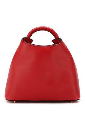 Женская сумка baozi ELLEME красного цвета, арт. BA0ZI/C0W LEATHER | Фото 1