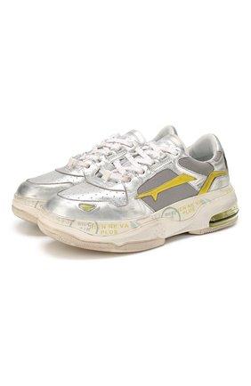 Комбинированные кроссовки Drake-D | Фото №1