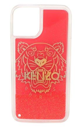 Мужской чехол для iphone 11 pro KENZO фуксия цвета, арт. FA5C0KIXITLI | Фото 1