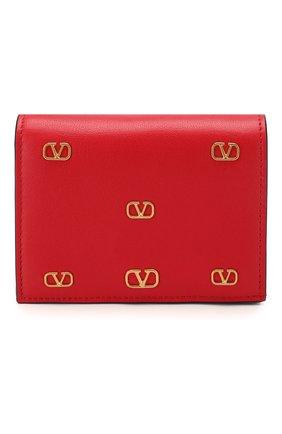 Женские кожаное портмоне valentino garavani VALENTINO красного цвета, арт. TW2P0P39/DRT | Фото 1
