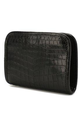 Женские кожаное портмоне SAINT LAURENT черного цвета, арт. 606503/1QP3D | Фото 2