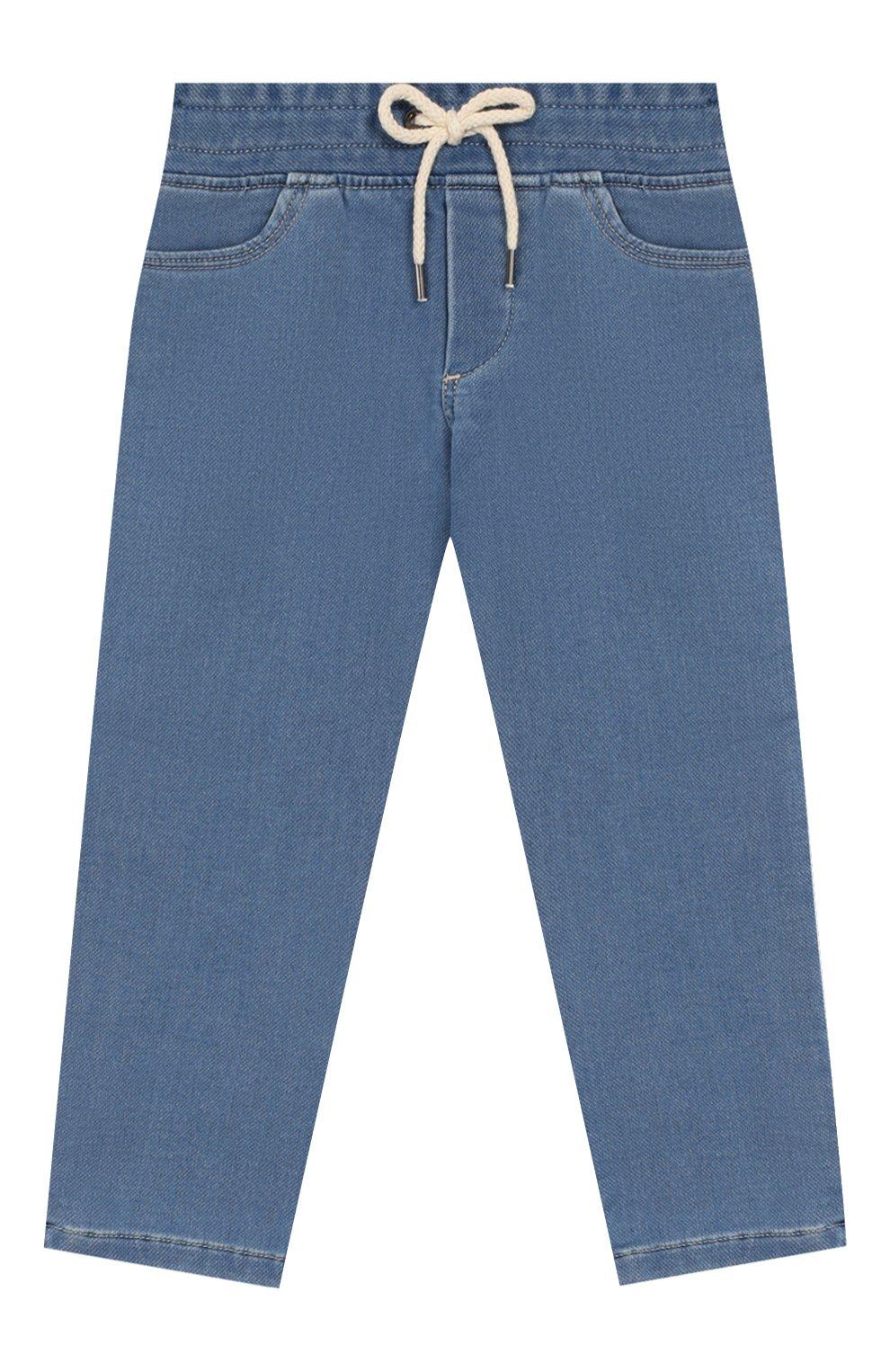 Детские джинсы MARC JACOBS (THE) голубого цвета, арт. W04177   Фото 1