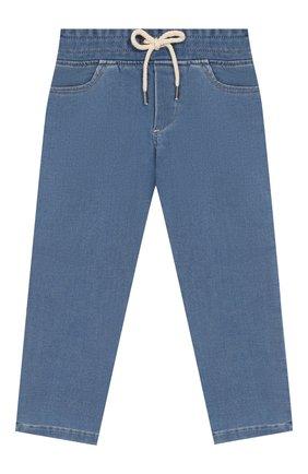 Детские джинсы MARC JACOBS (THE) голубого цвета, арт. W04177 | Фото 1