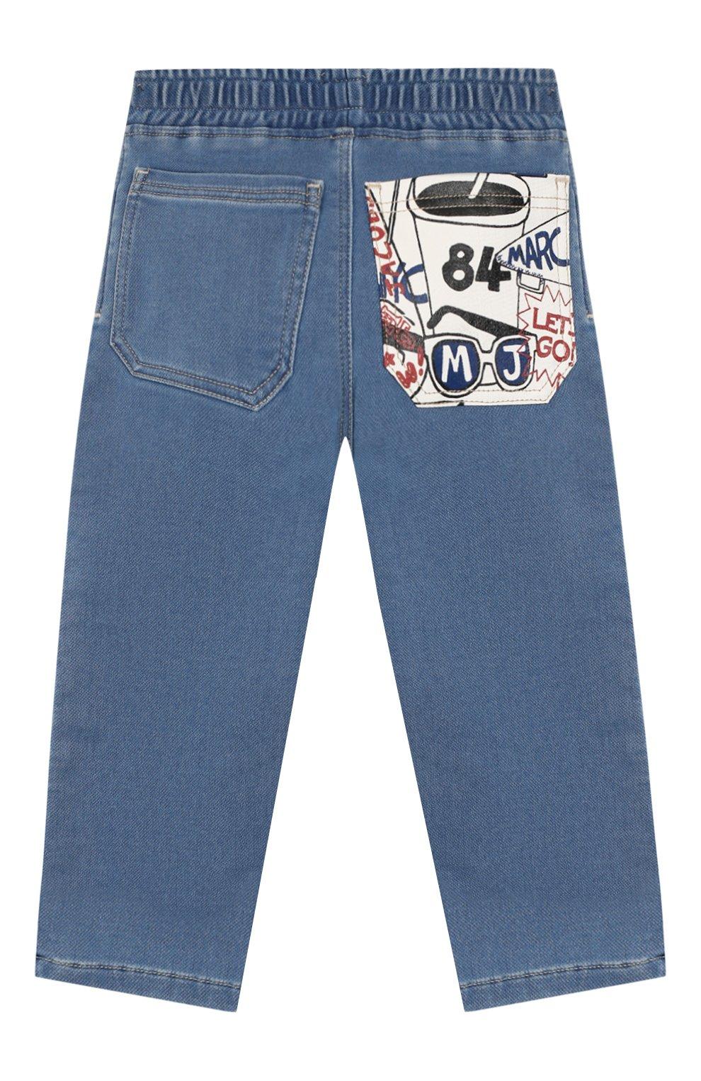 Детские джинсы MARC JACOBS (THE) голубого цвета, арт. W04177   Фото 2