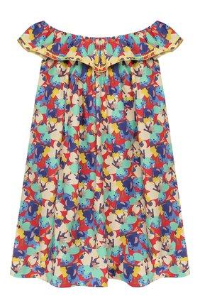 Детское хлопковое платье PAADE MODE разноцветного цвета, арт. 20210133/10Y-16Y | Фото 2