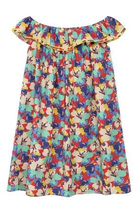 Детское хлопковое платье PAADE MODE разноцветного цвета, арт. 20210133/6M-8Y | Фото 2