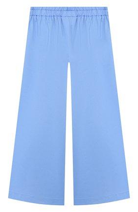 Детского хлопковые брюки PAADE MODE голубого цвета, арт. 20218202/6M-8Y | Фото 1