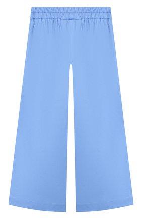 Детского хлопковые брюки PAADE MODE голубого цвета, арт. 20218202/6M-8Y | Фото 2
