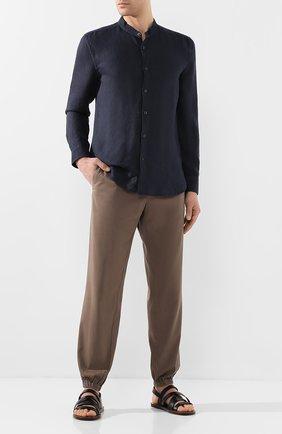 Мужские кожаные сандалии SILVANO SASSETTI черного цвета, арт. S19956X409AELBANER0 | Фото 2