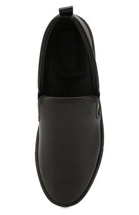 Мужские кожаные слипоны herald BALLY черного цвета, арт. HERALD-NEW/500   Фото 5