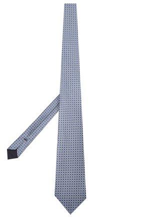 Мужской шелковый галстук TOM FORD синего цвета, арт. 7TF13/XT0   Фото 2