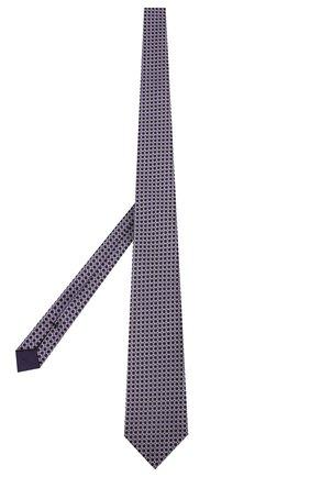 Мужской шелковый галстук TOM FORD фиолетового цвета, арт. 7TF12/XT0   Фото 2