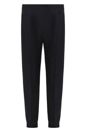 Мужской шерстяные брюки BERLUTI темно-синего цвета, арт. R17TCU60-002 | Фото 1