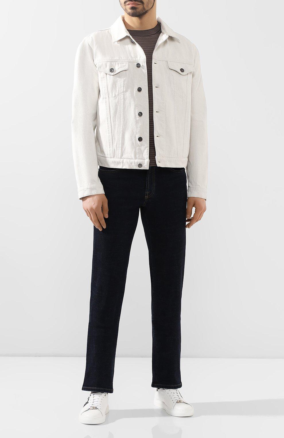 Мужские джинсы BRIONI темно-синего цвета, арт. SPNJ0L/P9D37/STELVI0 | Фото 2