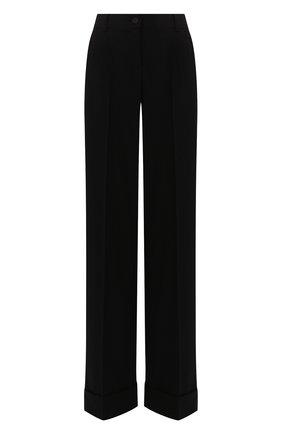 Женские шерстяные брюки DOLCE & GABBANA черного цвета, арт. FTBM0T/FUCC6 | Фото 1