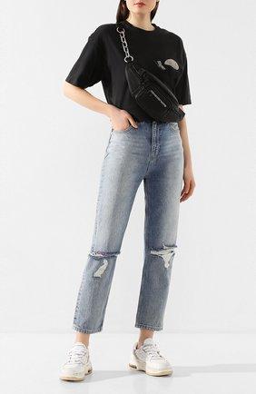 Женские джинсы KSUBI голубого цвета, арт. 5000004489   Фото 2