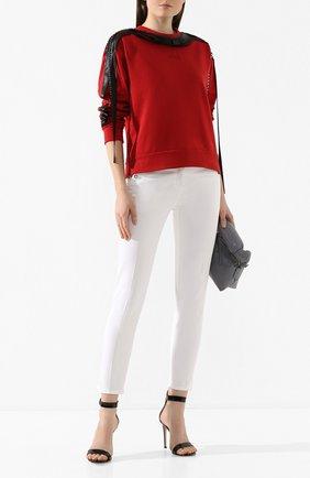 Женские джинсы NO. 21 белого цвета, арт. 20E N2P0/B011/0414 | Фото 2