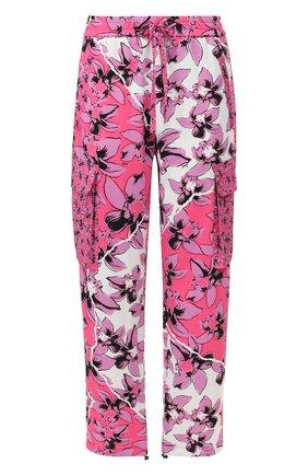 Женские брюки с принтом ICEBERG фуксия цвета, арт. 20E I2P0/B151/5277 | Фото 1