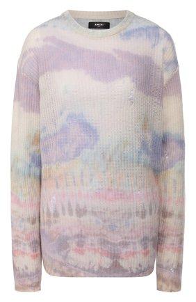 Женская кашемировый свитер AMIRI разноцветного цвета, арт. Y0W05551CC | Фото 1