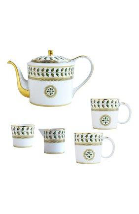 Мужского чайный сервиз на 2 персоны constance BERNARDAUD зеленого цвета, арт. 0657/22987 | Фото 1