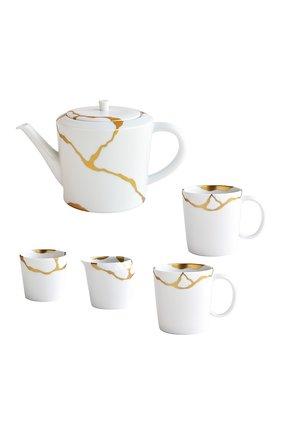 Чайный сервиз на 2 персоны kintsugi BERNARDAUD золотого цвета, арт. 1095/22987 | Фото 1