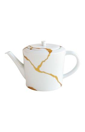 Чайный сервиз на 2 персоны kintsugi BERNARDAUD золотого цвета, арт. 1095/22987 | Фото 2