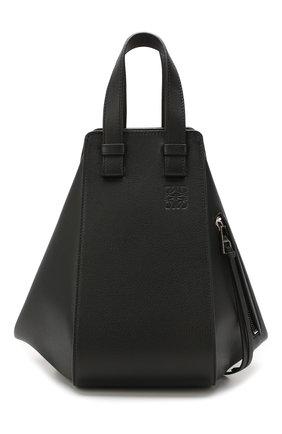 Женская сумка hammock small LOEWE черного цвета, арт. 387.30.S35 | Фото 1