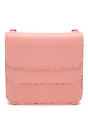 Женская сумка ana REJINA PYO светло-розового цвета, арт. B21/LEATHER TEXTURED   Фото 1