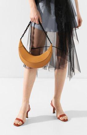 Женская сумка banana REJINA PYO темно-бежевого цвета, арт. B40/LEATHER   Фото 2