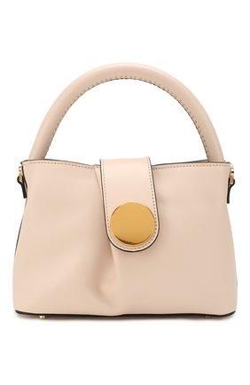 Женская сумка malette ELLEME бежевого цвета, арт. MALETTE/C0W LEATHER | Фото 1