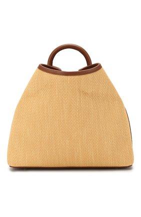 Женская сумка raisin ELLEME коричневого цвета, арт. RAISIN/RAFFIA | Фото 1
