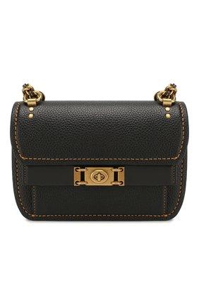 Женская сумка bar COACH черного цвета, арт. 73560 | Фото 1