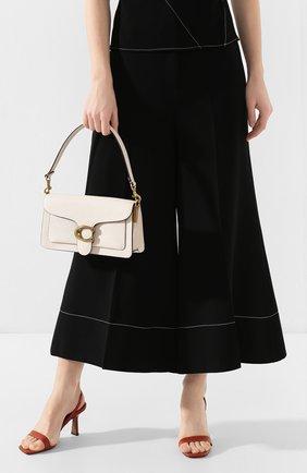 Женская сумка tabby 26 COACH белого цвета, арт. 73995   Фото 2