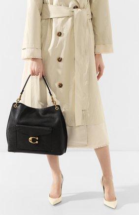 Женская сумка tabby COACH черного цвета, арт. 78207 | Фото 2