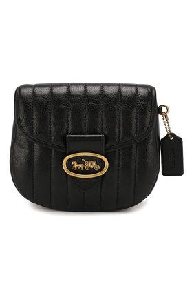 Женская сумка kat 20 COACH черного цвета, арт. 88239 | Фото 1