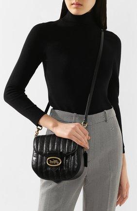 Женская сумка kat 20 COACH черного цвета, арт. 88239 | Фото 2