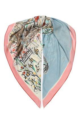 Женская шаль london bridge из смеси кашемира  шелка LORO PIANA разноцветного цвета, арт. FAL0122 | Фото 1