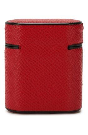 Мужской чехол для airpods DOLCE & GABBANA красного цвета, арт. BI2572/A1001   Фото 2