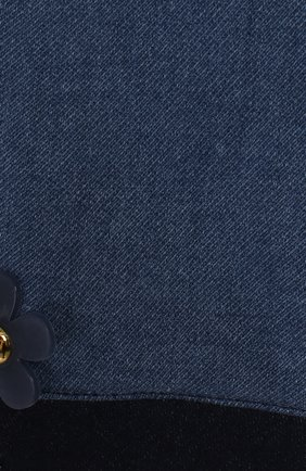 Детские джинсы с эластичным поясом MARC JACOBS (THE) голубого цвета, арт. W04173 | Фото 3