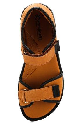 Кожаные сандалии   Фото №4