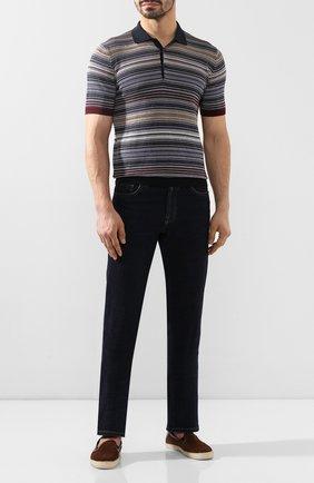 Мужские замшевые эспадрильи MORESCHI темно-коричневого цвета, арт. 43438/EX/VESUVI0 | Фото 2