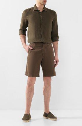 Мужские текстильные эспадрильи CASTANER хаки цвета, арт. 021821 | Фото 2