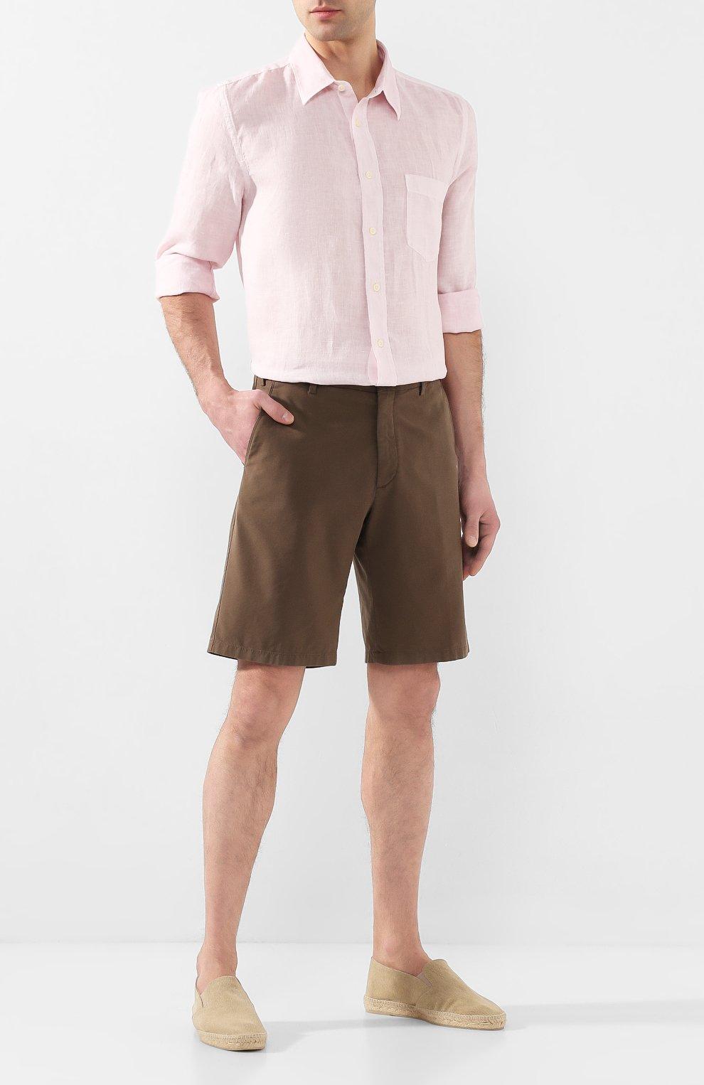 Мужские текстильные эспадрильи CASTANER светло-коричневого цвета, арт. 021821 | Фото 2