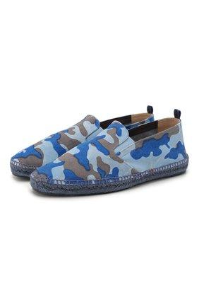 Мужские текстильные эспадрильи CASTANER голубого цвета, арт. 021828 | Фото 1
