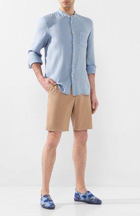 Мужские текстильные эспадрильи CASTANER голубого цвета, арт. 021828 | Фото 2
