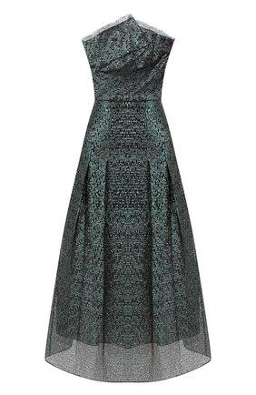 Женское платье-миди ROLAND MOURET зеленого цвета, арт. PS20/S0869/F0300 | Фото 1