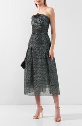 Женское платье-миди ROLAND MOURET зеленого цвета, арт. PS20/S0869/F0300 | Фото 2